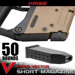 KRISS VECTOR AEG SHORT MAGAZINE 50rd