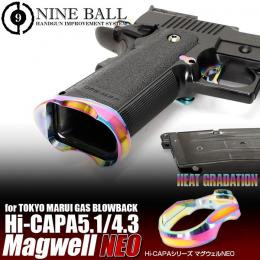NINE BALL Hi-CAPA5.1/4.3 Magwell NEO HEAT GRADATION
