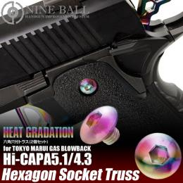 NINE BALL Hi-CAPA5.1/4.3 Hexagon Socket Truss HEAT GRADATION