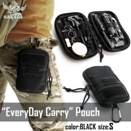 [Pre-order!]EveryDay Carry pouch BLACK S [GARUDA]