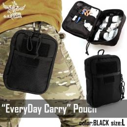 [Pre-order!]EveryDay Carry pouch BLACK L [GARUDA]
