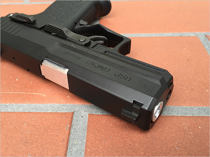 Marui USP Compact  Metal Outer Barrel GM