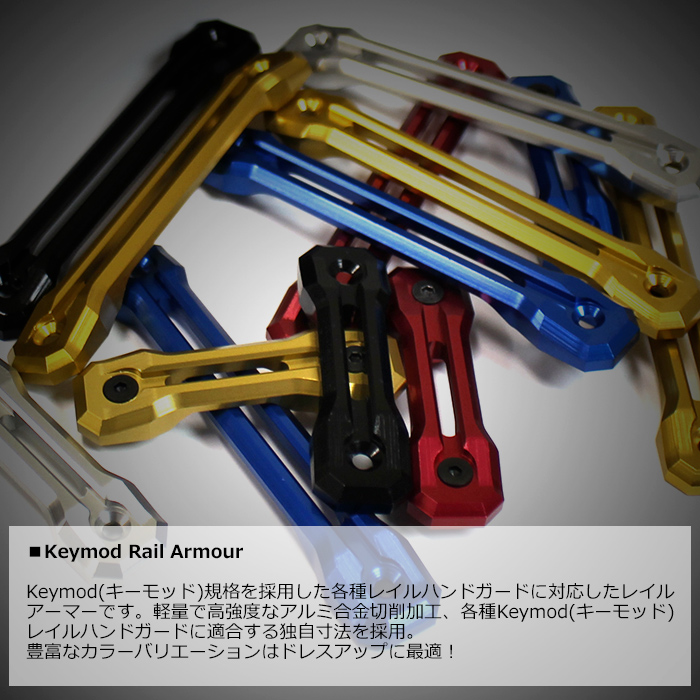 Rail Armor for Keymod S Size