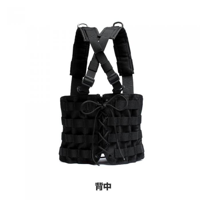 GHOST GEAR Corset Rig #(Sharp) for Ladies <Black>