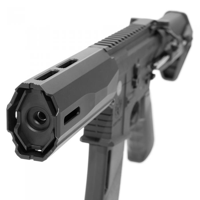 KRYTAC TRIDENT SDP 2.0 LayLax Edition Airsoft AEG Rifle (Color: Black)