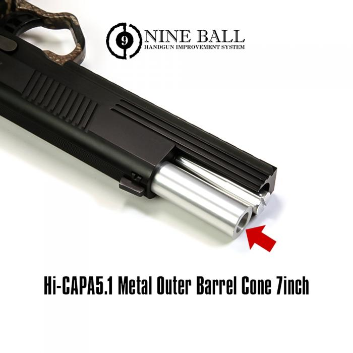 Hi-CAPA5.1 Metal Outer Barrel Cone 7inch