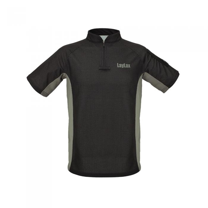 BATTLE STYLE PERFORMANCE SHIRT BK/FG