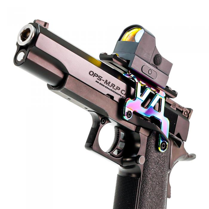 【WEB Limited】L.A.S TM GB Hi-CAPA 5.1/4.3 Hi-CAPA Aluminium Mount Base NEO(HEAT GRADATION)