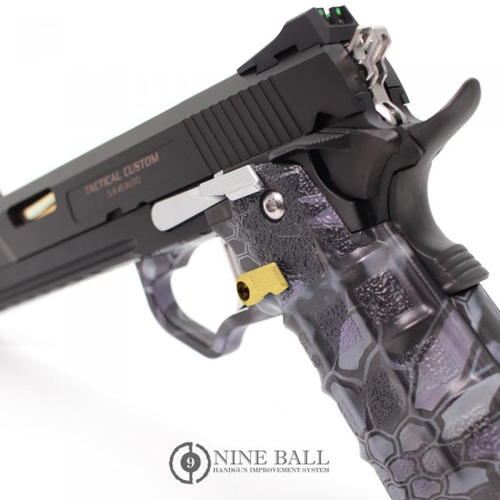 L.A.S.NINE BALL TM GBB Hi-CAPA/CUSTOM MAGAZINE CATCH