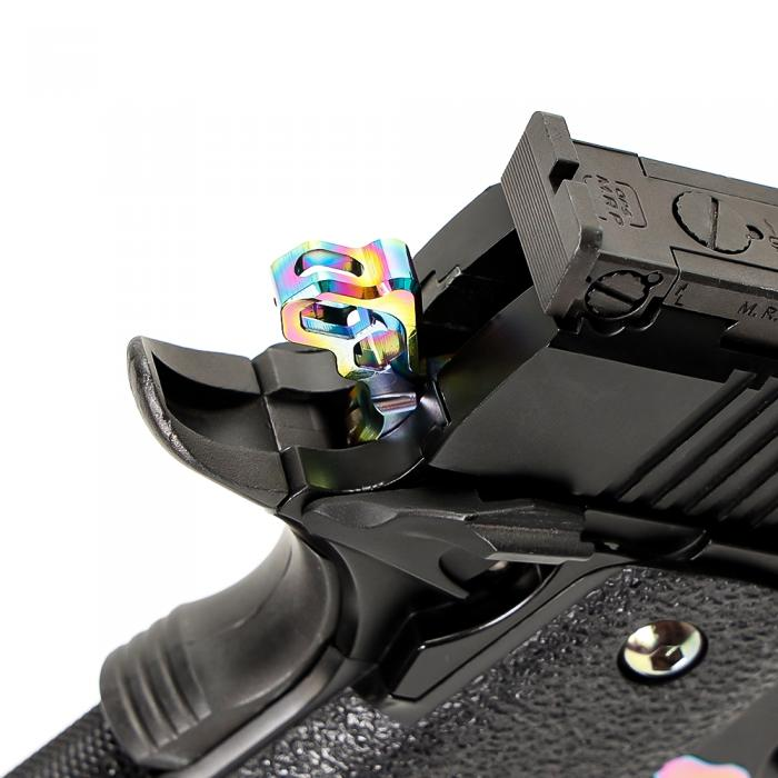 NINEBALL TM GBB Hi-CAPA 5.1/4.3 Custom Hammer HEXA HEAT GRADATION
