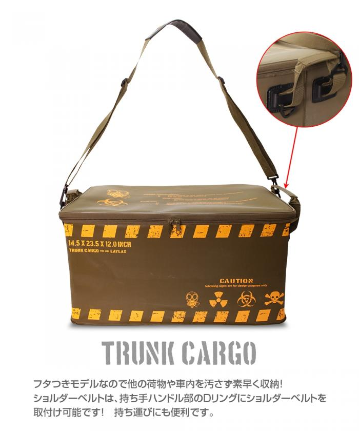 satellite TRUNK CARGO MODEL WITH LID