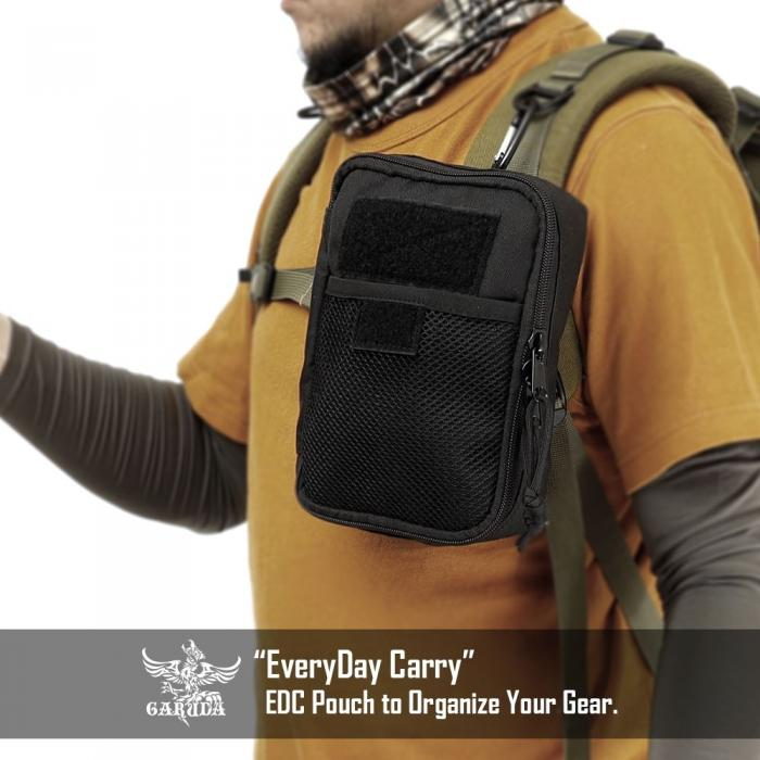 EveryDay Carry pouch BLACK L [GARUDA]