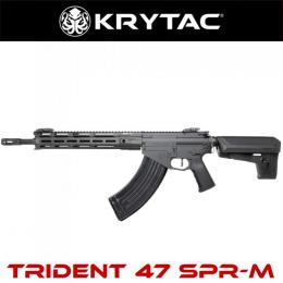 Krytac Full Metal Trident 47 SPR-M Airsoft AEG Rifle (Color: Black)
