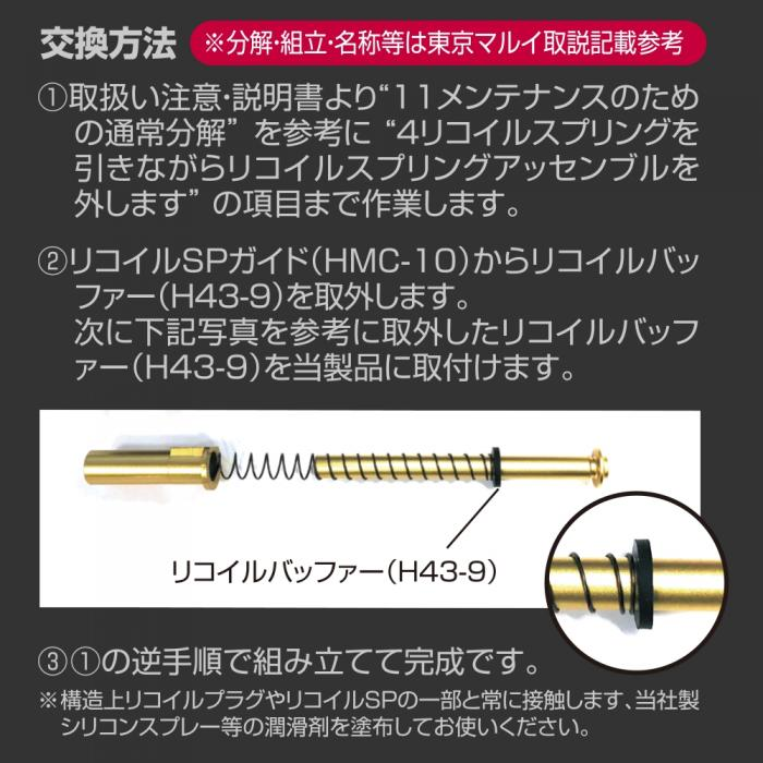 Recoil Spring Guide for Hi-CAPA 5.1 GOLD MATCH