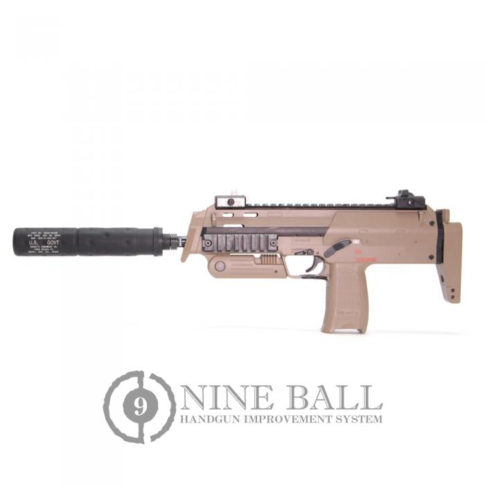 NINEBALL Marui MP7A1 SILENCER ATTACHMENT SYSTEM NEO[14mm CCW]