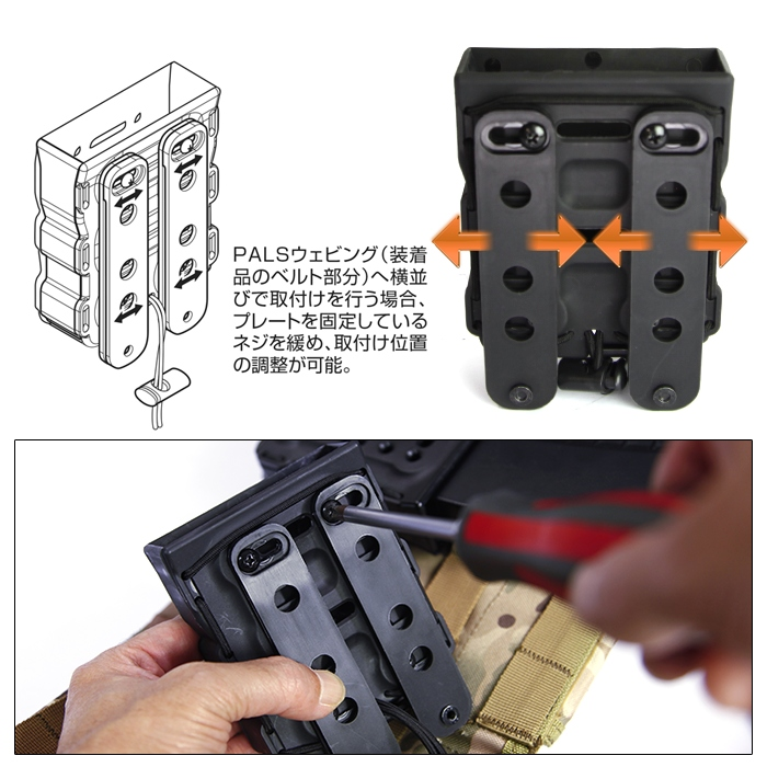 Bite Mag AK/7.62 Quick Mag Holder (1Pcs)