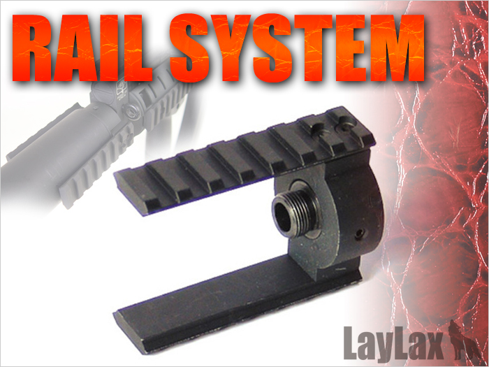 Front Rail Attachment for Suppressor