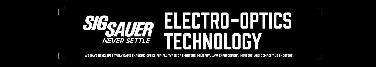 SIG SAUER光学機器テクノロジー ELECTRO-OPTICS TECHNOLOGIES