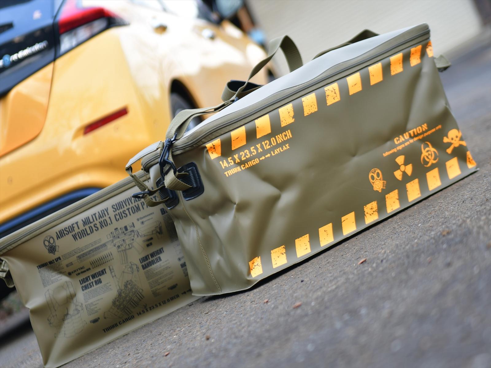 ガンラックだけじゃない!サバゲー用品を賢く収納「トランクカーゴ」レビュー
